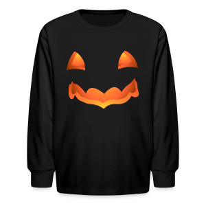 Kid's Halloween Shirt Pumpkin Kid's Shirts - Kids' Long Sleeve T-Shirt