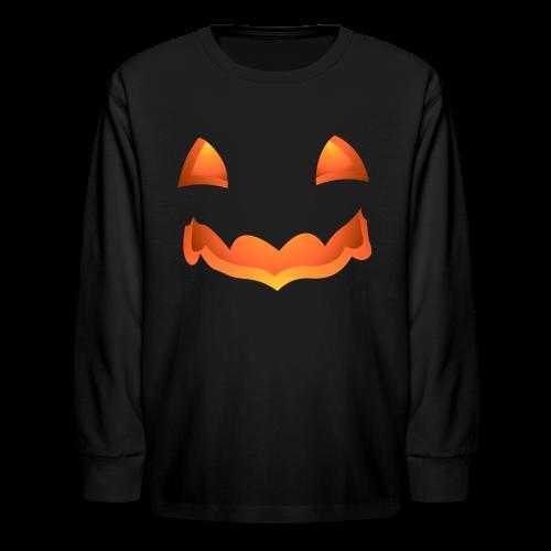 Kid's Halloween Shirt Pumpkin Kid's Shirts - Kids' Long Sleeve T-Shirt