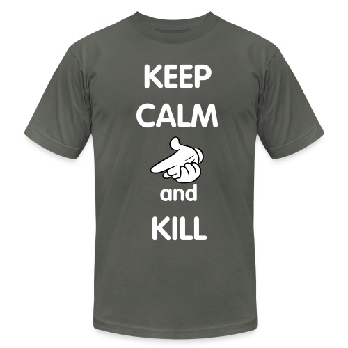Keep Calm and Kill - Men's  Jersey T-Shirt
