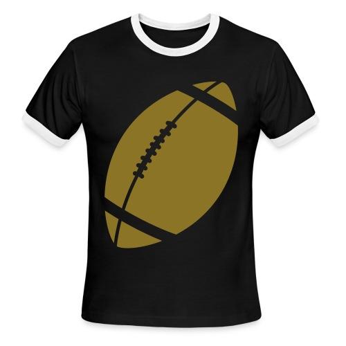 The FootBall - Men's Ringer T-Shirt