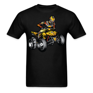 Yellow Suzuki ATV Rider - Men's T-Shirt