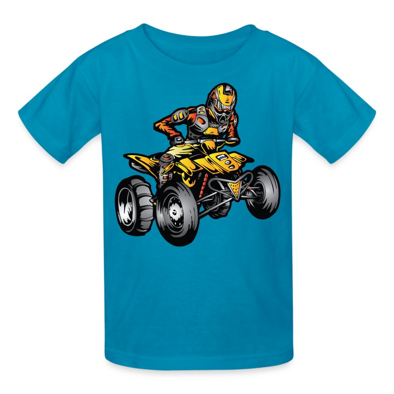 suzuki atv quad sand rider t shirt spreadshirt. Black Bedroom Furniture Sets. Home Design Ideas