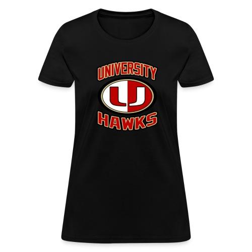 UNIVERSITY HAWKS Women's T-Shirt - Women's T-Shirt