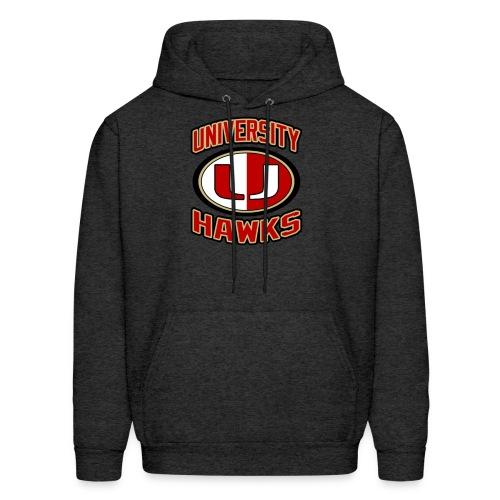 UNIVERSITY HAWKS Men's hoodie - Men's Hoodie