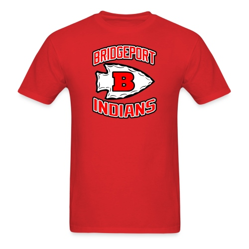 BRIDGEPORT INDIANS Men's T-Shirt - Men's T-Shirt