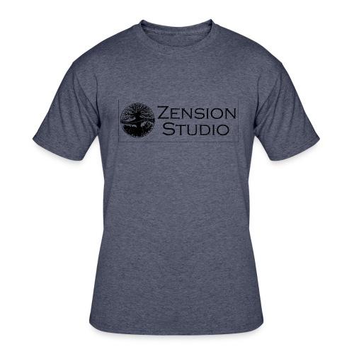 Zension Studio  - Men's 50/50 T-Shirt