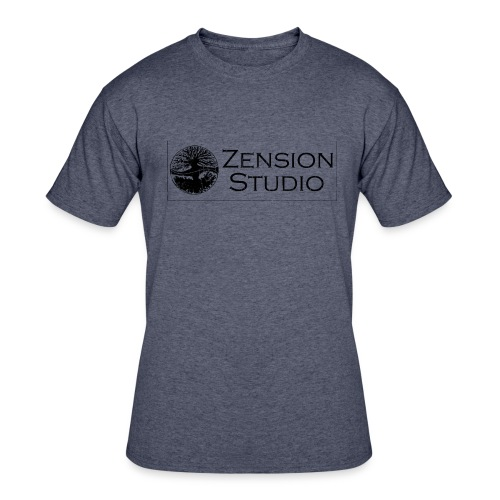 Zension Studio  - Men's 50/50 T-Shirt
