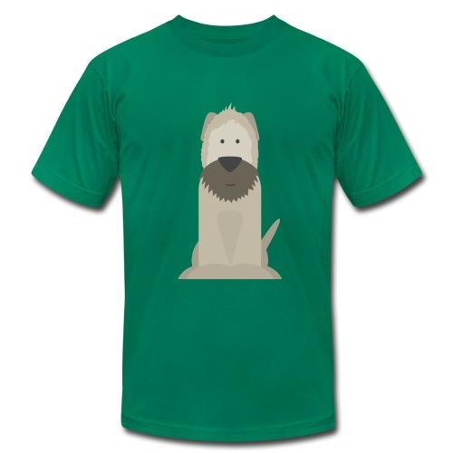 Wheaten Terrier T-Shirt - Men's Fine Jersey T-Shirt