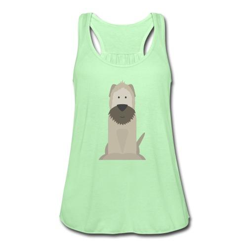 Wheaten Terrier Tank Top - Women's Flowy Tank Top by Bella