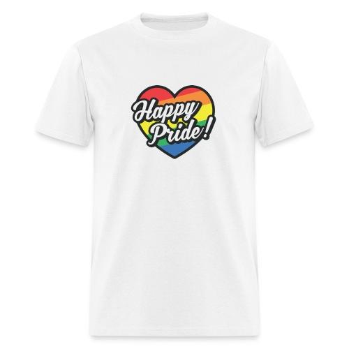 Happy Pride T-Shirt - Men's T-Shirt