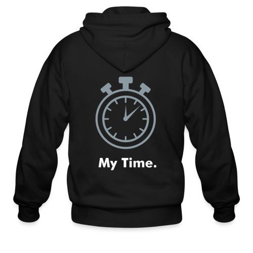 Men My Time Sweater - Men's Zip Hoodie