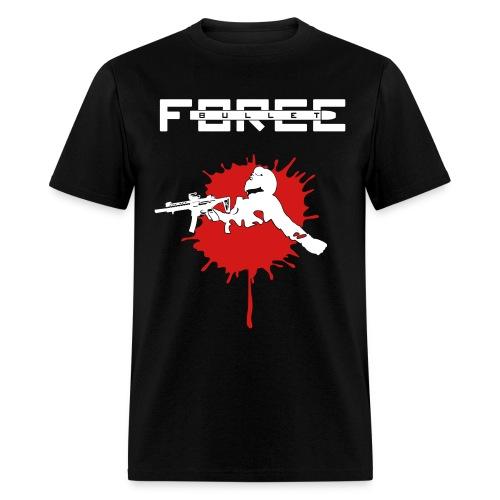 Bullet Force T-Shirt (Male) 100% Cotton - Men's T-Shirt
