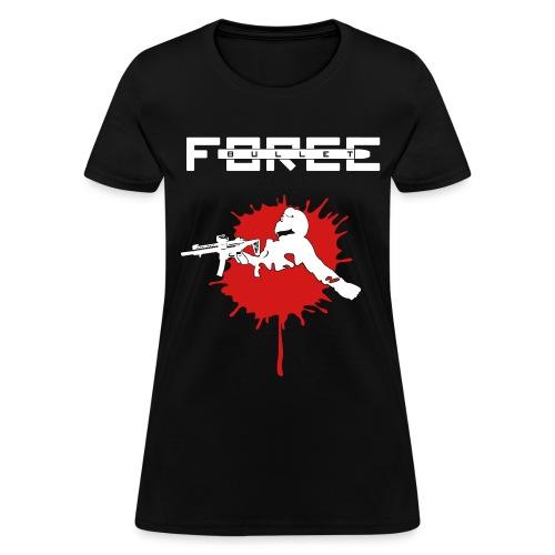 Bullet Force T-Shirt (Female) 100% Cotton - Women's T-Shirt