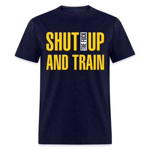 shutup - Men's T-Shirt