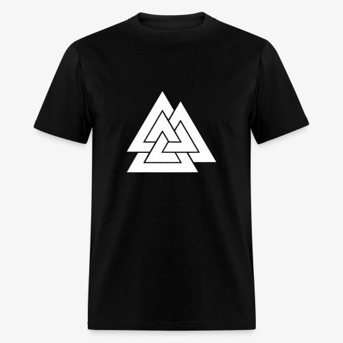White Valknut T - Men's T-Shirt