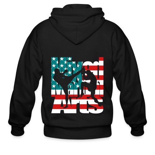 mma hoodie - Men's Zip Hoodie