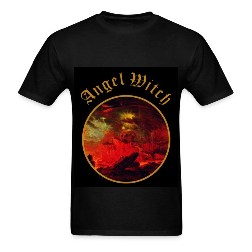ANGEL ROCK TSHIRT BLACK - Men's T-Shirt