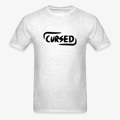 Cursed 'Signature'  - Men's T-Shirt
