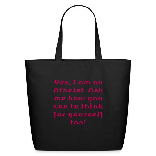 Atheist Tote - Eco-Friendly Cotton Tote