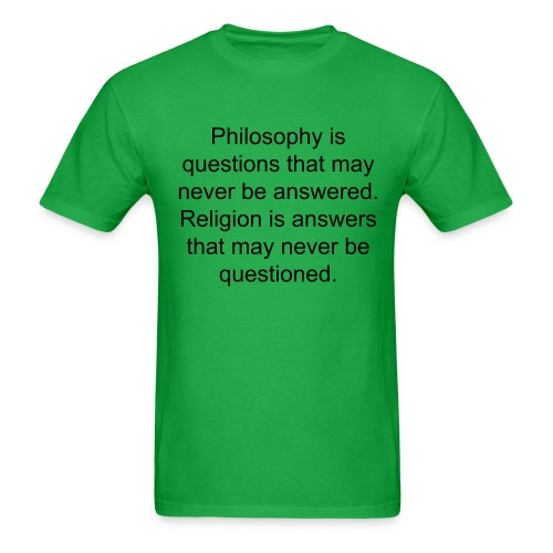Religion/Philosophy  - Men's T-Shirt