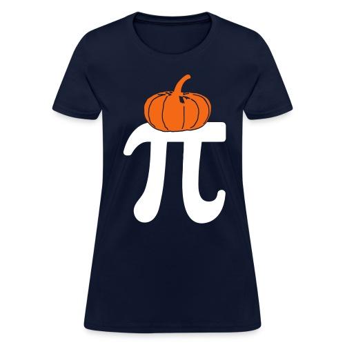 Pumpkin Pi - Women's T - Women's T-Shirt