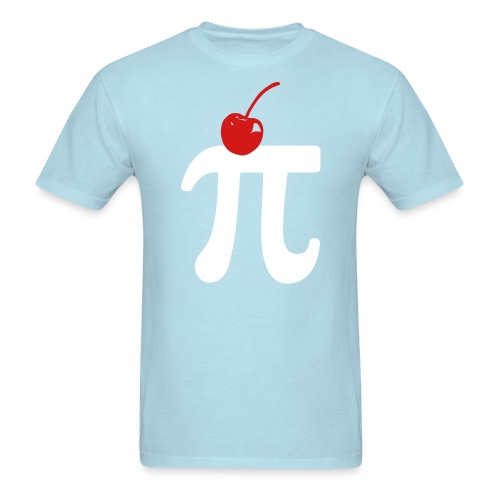 Cherry Pi - Normal T - Men's T-Shirt