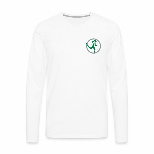 ChiRunning Instructor Men's Long Sleeve T Shirt - Men's Premium Long Sleeve T-Shirt