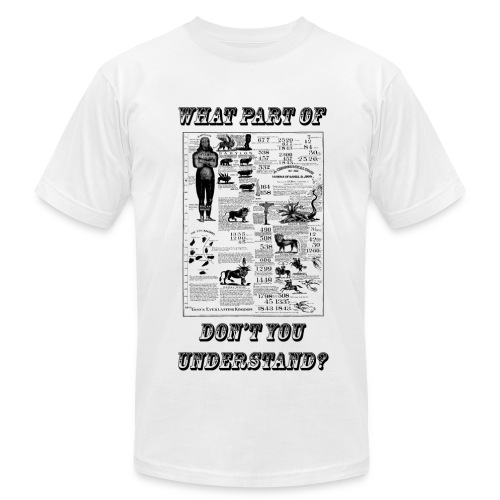 What Part of Don't You Understand? - Men's Fine Jersey T-Shirt