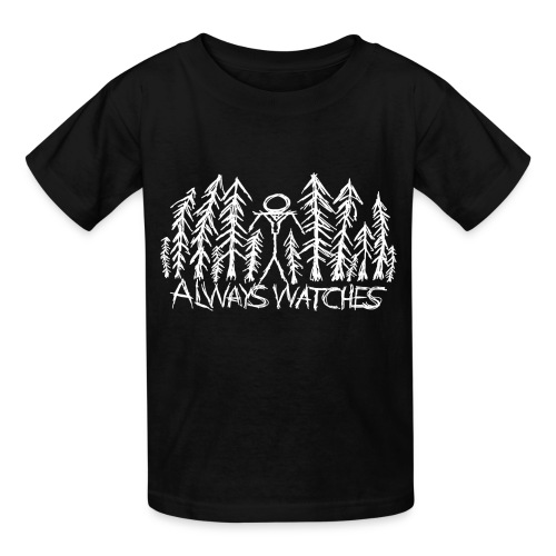Slender Always Watches shirt - Kids' T-Shirt
