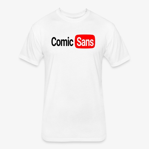 Creator Sans Tee - Fitted Cotton/Poly T-Shirt by Next Level