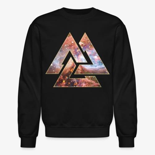 Universe Valknut Crewneck - Crewneck Sweatshirt