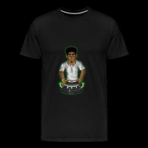 'No Favors 2' T-Shirt for Men (@RACSOGRFX) - Men's Premium T-Shirt
