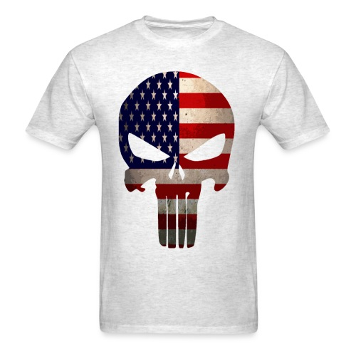 The Punisher Made In USA T-shirt - Men's T-Shirt