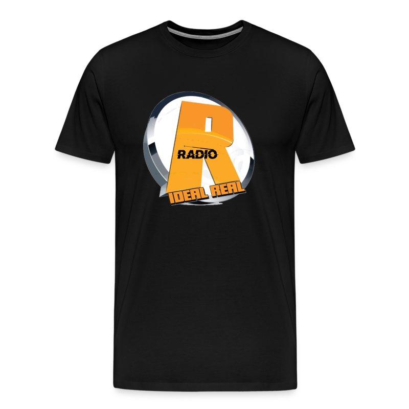 ideal real radio lg logo pic - Men's Premium T-Shirt