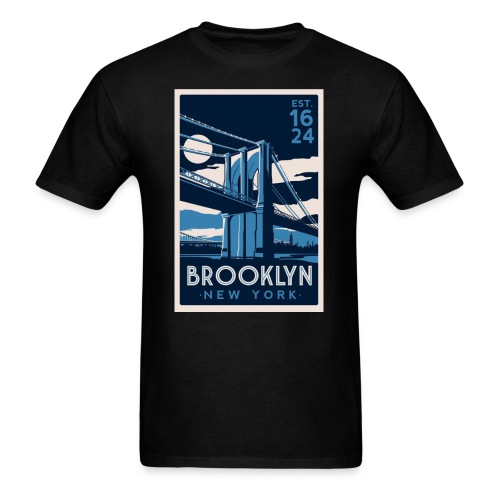 BKLYN STAMP - Men's T-Shirt
