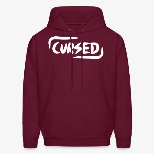 Cursed Signature Hoodie (WHT) - Men's Hoodie