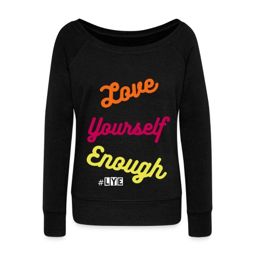 Word is born-LYE - Women's Wideneck Sweatshirt