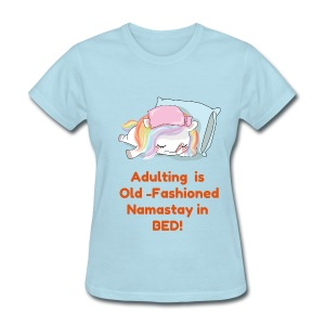 Adulting is Old-Fashioned - Women's T-Shirt
