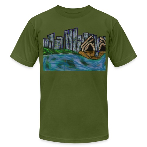 CITYMELTS SYDNEY SKYLINE  - Men's  Jersey T-Shirt