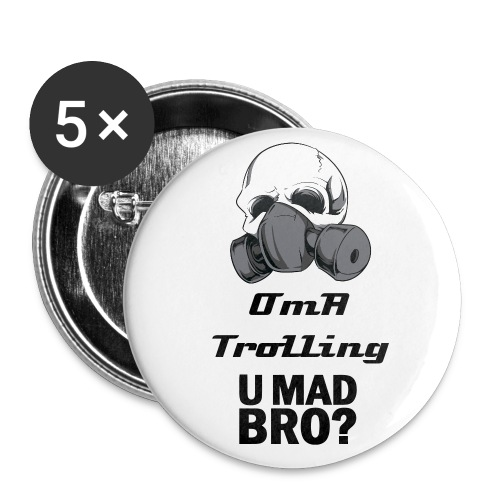 Official Small 25mm Buttons - Small Buttons