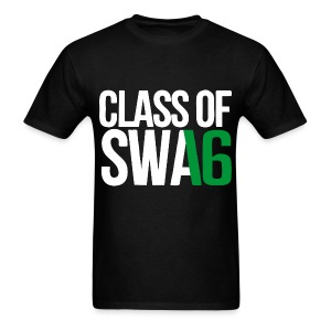 Class of SWAG 2016 Green with no band - Men's T-Shirt