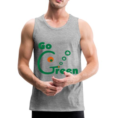 Go Green - Men's Premium Tank