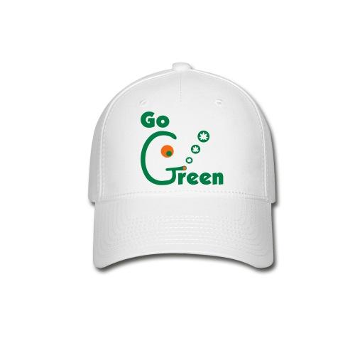 Go Green - Baseball Cap