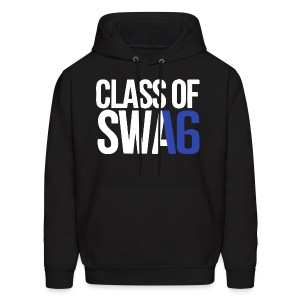 Class of SWAG 2016 Blue with no band - Men's Hoodie