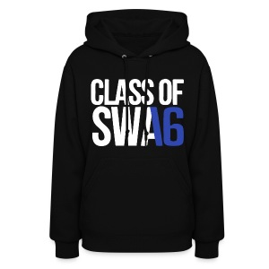 Class of SWAG 2016 Blue with no band - Women's Hoodie