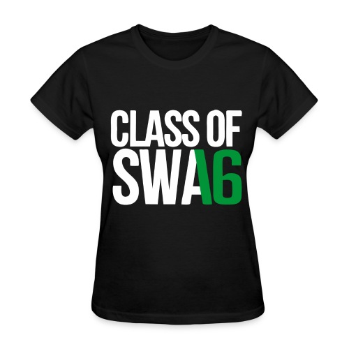 Class of SWAG 2016 Green with no band - Women's T-Shirt