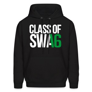 Class of SWAG 2016 Green with no band - Men's Hoodie
