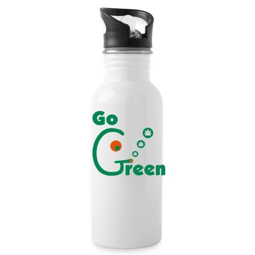 Go Green - Water Bottle