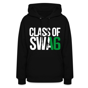 Class of SWAG 2016 Green with no band - Women's Hoodie