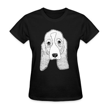 Basset Hound Puppy Women's T-Shirts